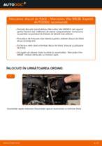Schimbare Disc frana MERCEDES-BENZ VITO: manual de intretinere si reparatii