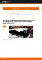 MERCEDES-BENZ E-CLASS (W211) Verschleißanzeige Bremsen: Kostenlose Online-Anleitung zur Erneuerung