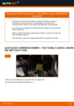 Schritt-für-Schritt-PDF-Tutorial zum Stabigummis-Austausch beim FIAT DOBLO Cargo (223)