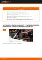 FIAT DOBLO Cargo (223) Luftfilter wechseln Ersatz: Anleitung pdf