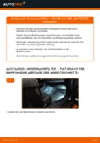 Schritt-für-Schritt-PDF-Tutorial zum Achskörperlager-Austausch beim FIAT BRAVO II (198)