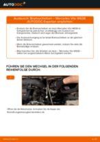 Wie Mercedes Vito W638 Bremsscheiben vorne wechseln - Anleitung
