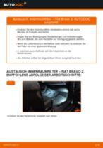 Wartungsanleitung im PDF-Format für MOHAVE / BORREGO