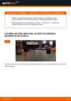 Luftfiltereinsatz Auto Ersatz wechseln: Online-Anweisung für FIAT BRAVA
