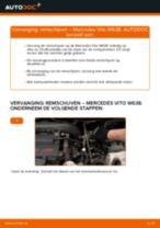 PDF handleiding voor vervanging: Remschijven MERCEDES-BENZ VITO Bus (638) achter en vóór