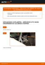 autoonderdelen MERCEDES-BENZ VITO Bus (638) | PDF Reparatie tutorial