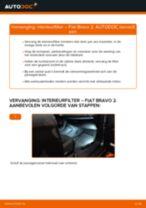 PDF handleiding voor vervanging: Pollenfilter FIAT BRAVO II (198)