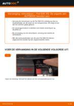 Hoe Luchtfilter veranderen en installeren FIAT 500: pdf handleiding