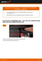 Nissan Qashqai j10 Nummernschildbeleuchtung: Schrittweises Handbuch im PDF-Format zum Wechsel