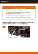 FIAT DOBLO Platform/Chassis (263) tutoriel de réparation et de maintenance