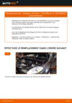 Comment changer : disques de frein avant sur Fiat Bravo 2 - Guide de remplacement
