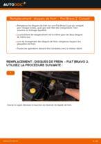 Comment changer : disques de frein arrière sur Fiat Bravo 2 - Guide de remplacement
