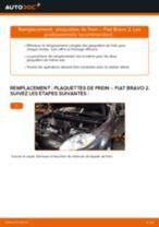 FIAT BRAVA tutoriel de réparation et de maintenance