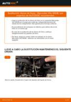 Cambiar Discos de Freno MERCEDES-BENZ VITO: manual de taller