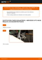 Manual de instrucciones MERCEDES-BENZ VITO
