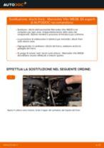 Come cambiare dischi freno della parte anteriore su Mercedes Vito W638 - Guida alla sostituzione
