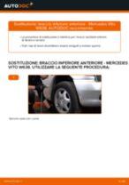 Guida passo passo alla riparazione Mercedes Vito W638