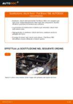 FIAT BRAVO II (198) Dischi Freno sostituzione: tutorial PDF passo-passo