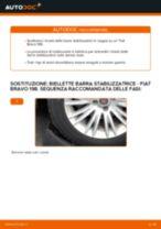Fiat Punto 188 Pinza Freno sostituzione: tutorial PDF passo-passo