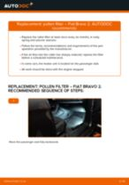 Auto mechanic's recommendations on replacing FIAT FIAT BRAVO II (198) 1.6 D Multijet Brake Pads
