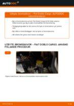 Montering Bromsskiva FIAT DOBLO Cargo (223) - steg-för-steg-guide