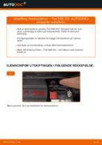 DIY-manual for utskifting av Termostat i SUBARU IMPREZA 2020