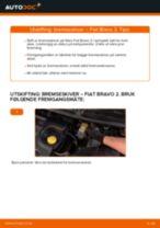 Skifte Dynamo FIAT BRAVA: gratis pdf
