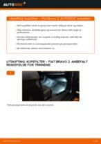 DIY-manual for utskifting av Bremsecaliper Reparasjonssett i MERCEDES-BENZ 190 1993