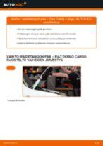 Online-ohjekirja, kuinka vaihtaa Moottorin tukikumit Golf 4 -malliin