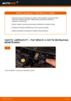 Online-ohjekirja, kuinka vaihtaa Tukivarsi FIAT BRAVO II (198) -malliin
