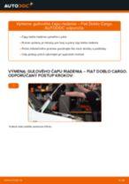 Odporúčania od automechanikov k výmene FIAT Fiat Doblo Cargo 1.3 D Multijet Stieracia liżta