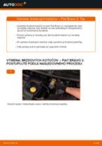 FIAT Brzdový kotouč zadné a predné vymeniť vlastnými rukami - online návody pdf