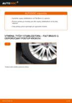 Vymeniť Drżiak ulożenia stabilizátora na aute CITROËN C6 - tipy a triky