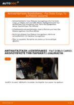 Αλλαγή Δισκόπλακα FIAT DOBLO: δωρεάν pdf