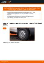 Αλλαγή Ψαλίδια αυτοκινήτου FIAT DOBLO: δωρεάν pdf