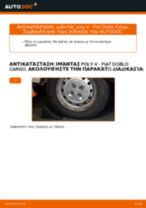 Δωρεάν οδηγίες για Ιμάντας poly-V FIAT DOBLO Cargo (223) αλλάξετε