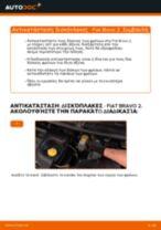 Αντικατάσταση Δισκόπλακα πίσω και μπροστινα FIAT μόνοι σας - online εγχειρίδια pdf