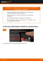 DIY käsiraamat Amordi Tugilaager asendamiseks AUDI 80 1995