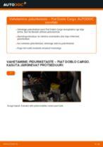 Tutvuge meie üksikasjaliku juhendiga FIAT eesmine ja tagumine Piduriketas probleemide tõrkeotsingu kohta