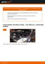 Kuidas vahetada Kütusefilter bensiin Audi 80 B4 Avant - juhend online
