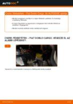 FIAT DOBLO Cargo (223) Kerékcsapágy készlet csere - tippek és trükkök