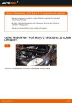 A Csapágy Tengelytest cseréjének barkácsolási útmutatója a FIAT BRAVO II (198)-on