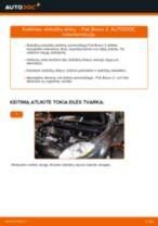 LANCIA KAPPA Pagrindinis stabdžių cilindras pakeisti: žinynai pdf