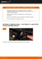 PEUGEOT 2008 Ašies montavimas pakeisti: žinynai pdf