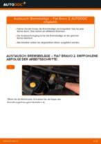 KIA SEPHIA (FB) Bremsscheiben hinten und vorne auswechseln: Tutorial pdf