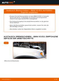 Wie der Ersatz vollführt wird: Bremsscheiben am BMW X5