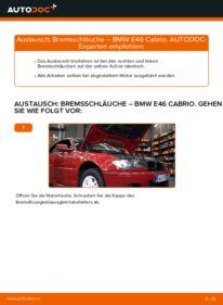 Wie der Ersatz vollführt wird: Bremsschläuche am BMW 3 SERIES