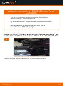 Vervangen: Remblokken BMW 3 SERIES