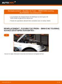 Comment effectuer un remplacement de Flexible De Frein sur 320d 2.0 BMW 3 Touring (E46)