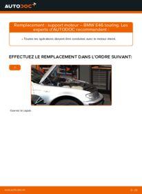 Comment effectuer un remplacement de Support Moteur sur 320d 2.0 BMW 3 Touring (E46)
